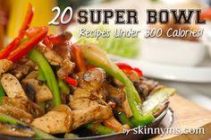 20 Superbowl Kick-Off Recipes
