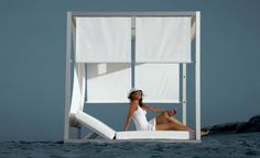 Multipurpose Comfortable Outdoor Daybed by Gandia Blasco Comfortable Outdoor Furniture Daybed with Modern Design
