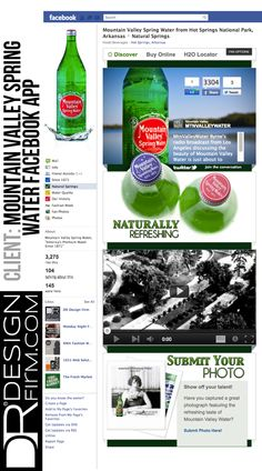 Mountain Valley Spring Water Spring App, Old Logo, Spring Water, Facebook Business, Water Bottle, Mountain, Apps, Healthy, Mineral Water