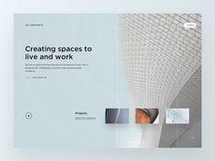 Architecture Studio Firm Homepage