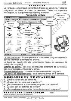 curso computación primero de primaria