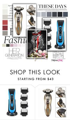 """NewChic 24."" by adelisamujkic ❤ liked on Polyvore featuring beauty"