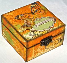 altered wood box