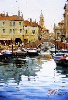 Watercolor. Joseph Zbukvic