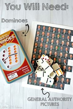 So fun! LDS General Conference Game Idea