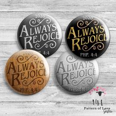 Always Rejoice 2020 JW Convention Philippians 4:4 | Etsy