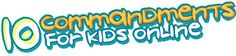 A great place to help parents start a conversation about online behavior with their children.