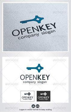 Open Key Logo