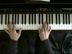 Learn blues piano lesson 1 - YouTube