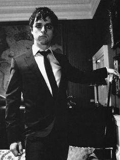 Billie Joe in a suit............