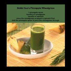 Pineapple Wheatgrass!