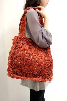 Photo No name. Album Crocheted bags - 420 photos. All bags are the world's photos.