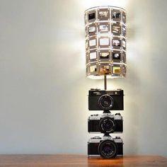 Film negative lamp
