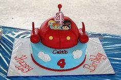 Caden wants a Little Einsteins cake.  Today, anyway!