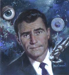 Twilight Zone. Rod Sterling