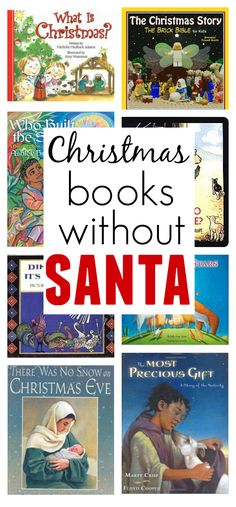 Christmas Books for kids Without Santa in them.