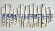 High Tide, Porcelain, 23x46cm Sara Roberts