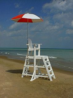 Tailwind TLG535 Tall Lifeguard Chair with Front Ladder - Outdoorsrockingchair.com