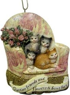 Cute Cats Unique Christmas Ornaments [W7574A] >>> Click on the image for additional details.