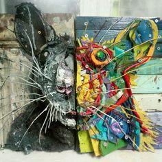 Murals Street Art, Street Art Graffiti, Mural Art, Flower Mural, Urban Graffiti, Trash Art, Urban Street Art, Art Addiction, Amazing Street Art