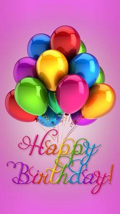 Happy Birthday Quote With Balloons birthday happy birthday happy birthday…