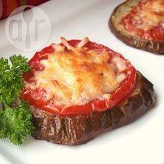 Berinjela e tomate assados com queijo parmesão @ allrecipes.com.br