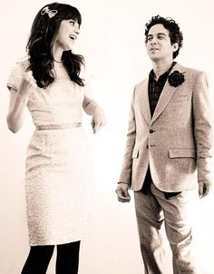 Zooey Deschanel and M. Ward, a.k.a. She & Him