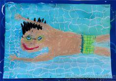 * Zwemmen! Tekenen en zo: zomer