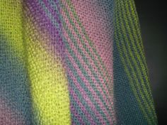 (6) Name: 'Knitting : Kauni Shawl