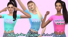 Color tops at Lumy Sims • Sims 4 Updates
