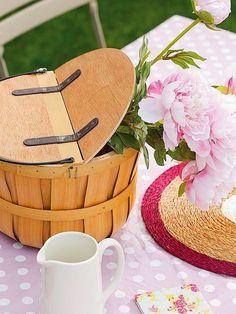Casa decorada - Detalhes românticos e rústicos ~ Decoração e Ideias - casa e jardim