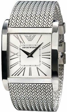 Emporio Armani Men's AR2014 Silver Stainless-Steel Quartz Watch with White Dial Emporio Armani, http://www.amazon.co.uk/dp/B0040733YE/ref=cm_sw_r_pi_dp_FN5gtb0WT5ZA6/279-4044743-2075917