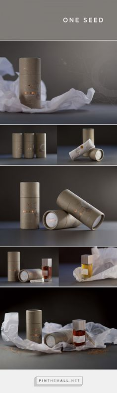 One Seed – Organic Perfume on Behance by Ennis Perry, Melbourne, Australia curated by Packaging Diva PD.  Packaging solution for developed is flexible & updatable, the solution allows for easy adaptability for new fragrances without major expense or production and importantly reduces any packaging going to waste