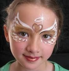 Simple face painting designs are not hard. Many people think that in order to have a great face painting creation, they have to use complex designs, rather then simple face painting designs. Girl Face Painting, Face Painting Designs, Painting For Kids, Paint Designs, Face Paintings, Painting Steps, Belly Painting, Diy Maquillage, Maquillage Halloween