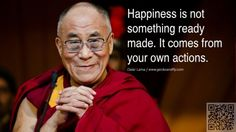 6. #Create Your Own Cheer - 7 #Inspirational Quotes from the Dalai Lama #about True Peace ... → #Inspiration #Quotes