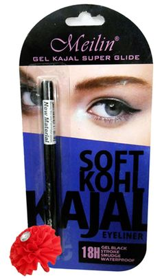 Meilin+Kajal+Pencil+Black+327+18H+Price+₹199.00