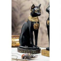 Bastet, the Egyptian Cat Goddess, was said to protect women and children, as…