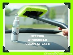 How we clean the inside of our Windshield and more window cleaning tips.