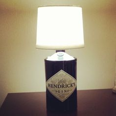 Hendricks Gin Lamp