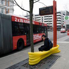 Mobiliário Urbano Reciclado por Oliver Schau,© Oliver Schau