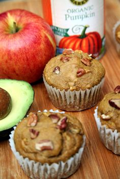 Skip the Coffee Shop For These 150-Calorie Pumpkin Avocado Muffins