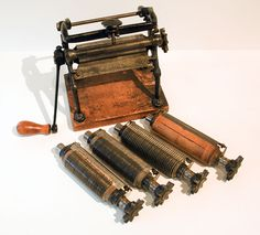 antique pasta machine