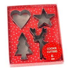 Cookie Cutters 4pk: Winterland | New Releases | Shop | kikki.K Stationery & Gifts