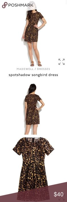 "Madewell/Broadway and Broome Spotshadow Songbird ""With its structured, retro shape and dreamy print, this style somehow manages to be both easy and polished."" I personally own 3 versions of this dress and they're always a go to in my closet! Originally $138 (PS it has pockets!) Madewell Dresses Mini"