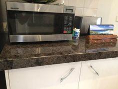 Labrador Antique Granite Kitchen Benchtop Installation