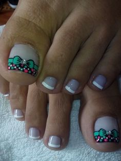 Pretty Pedicures, Pretty Toe Nails, Cute Toe Nails, Cute Acrylic Nails, Toe Nail Art, Love Nails, Gel Nails, Cute Pedicure Designs, Toe Nail Designs