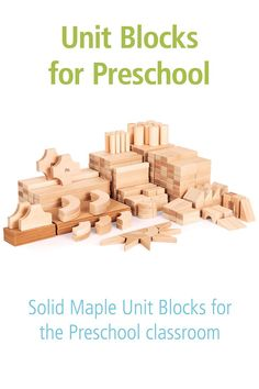 Unit Blocks are one of the most powerful learning tools for early childhood, and these Unit Block sets are precisely crafted and modular to support young enigneers.