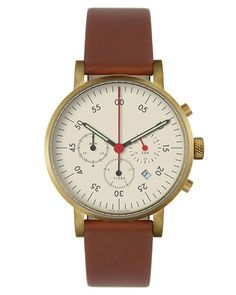 VOID V03C Chronograph Watch Gold/Tan