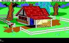 I played King's Quest II a couple of times when I was a kid. It seemed a little better than the first one.