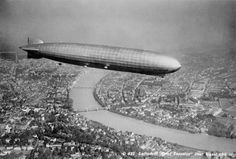 Luftschiff Graff Zeppelin über Basel